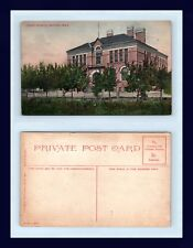 CANADA MANITOBA SOURIS HIGH SCHOOL PUBLISHED BY SHERRIN AND COMPANY CIRCA 1910