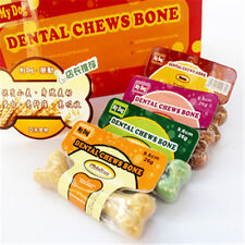 Pet Dog Puppy Food Different Taste Molar Bones Tooth Cleaning Treat Pet  PG