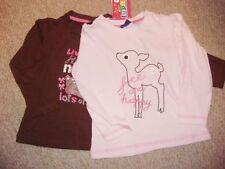 Magliette, maglie e camicie marrone per bambina da 0 a 24 mesi