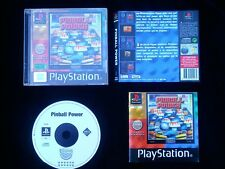 JEU Sony PLAYSTATION PS1 PS2 : PINBALL POWER (SLES-02922 COMPLET envoi suivi)