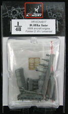 Armory Models 1/48 GERMAN WWI BMW D.IIIa AIRCRAFT ENGINE Resin & PE Set