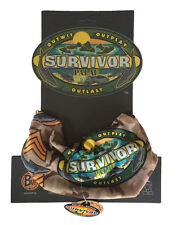 SURVIVOR BUFFS:  Palau Brown Koror Tribe Buff - New on Original Display