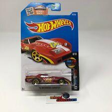 '76 Greenwood Corvette #63 * Red * Hot Wheels 2016 * WF1