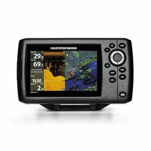 "Humminbird Helix G2 5 DI GPS 5"" Fish Finder/Chartplotter w Transducer, Basemap"