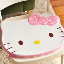 1Pcs Hello Kitty Face Home Car Chair Seat Cotton Plush Cushion Mat Kids Pillow