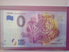 BILLET EURO SOUVENIR 2020-6 CERZA PARC ZOOLOGIQUE LISIEUX