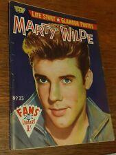 MARTY WILDE:FANS STAR LIBRARY MEGA RARE BOOK