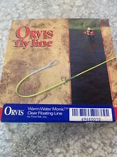 Orcis Warm Water Monic WF-10-F Fly Line New