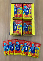 VINTAGE 1985 TOPPS NFL FOOTBALL SEALED UNOPENED WAX PACK 15 CARDS from BBCE BOX