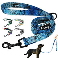 4ft Nylon Pet Dog Lead Durable Walking Lead for Small Large Dogs Soft Padded