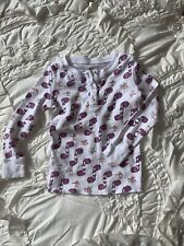 Roberta Roller Rabbit Toddler Purple Whale 2 Yr Top Only