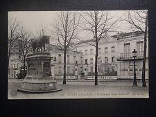CPSM Fontainebleau monument Rosa bonheur