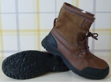 SIZE45 UK11 MENS BROWN WARM WINTER BOOTS. FAUX FUR LININGTHROUGHOUT £13.99