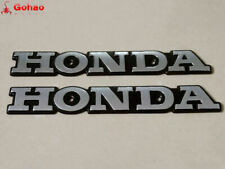 2x Tank Badge Emblem Metal for Honda CB125 S CB175 CB200 CL200 CL175 CL125 S110
