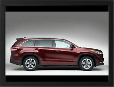"TOYOTA HIGHLANDER KLUGER SIDE A3 FRAMED PHOTOGRAPHIC PRINT 15.7""x11.8"""