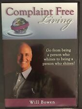 Complaint Free Living, DVD,  Will Bowen,  A Complaint Free World