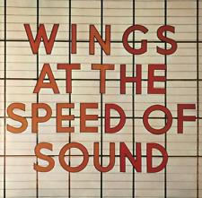 WINGS - Wings At The Speed Of Sound (LP) (VG-EX/VG-)