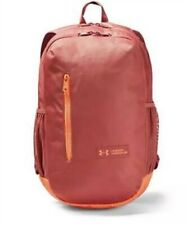 NWT Under Armour Roland Backpack Pink/Orange Girls