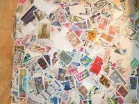 lot de 1000 timbres Français Oblitérés