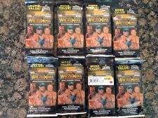 2015 Topps WWE Road To Wrestlemania New Sealed Retail 21 ct. JUMBO PACK LOT(8)