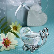 Crystal Baby Carriage Christening Favor Kids Birthday Gifts Baby Shower Favors