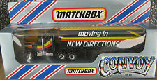 Matchbox Convoy Moving in new Directions Truck and Trailer