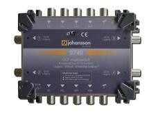 Johansson 9740 SCR 5/4 OLT Unicable Multiswitch