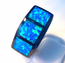 Opal Band Oval Costume Rings