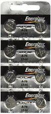 Energizer LR44 1.5v Button Cell Battery X 8 Batteries (replaces LR44 Cr44
