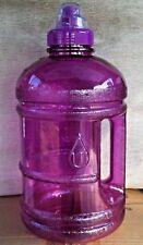 BPA FREE Water Sports Bottle Half Gallon 1.89 L 64 oz  Purple