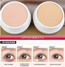 Woman Concealer Foundation Cream Cover Black Eyes Acne Scars Makeup Natural #130