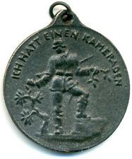 """Altdeutschland, I. WK, Medaille v. Hosaeus """"ICH HATT EINEN KAMERADEN"""""""