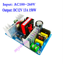 AC 100-260V to DC 12V 13A 150W Switch Power Board Isolated Power Module 10A 12A