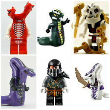 Ninjago Pythor Mini Figures Serpentine Lloyd Cole Jay Kai Sylor Pythor Ninja toy