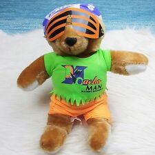 Rare WWF WWE 1992 Titan Sports MACHO MAN RANDY SAVAGE Teddy Bear Plush Stuffed