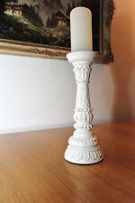 schöner ZARA HOME Kerzenständer Vintage Holz weiß shabby chic Hochzeit Deko