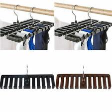 Rack Tie Belt Scarf Holder Hanger Closet Cabinet Wardrobe Hook Storage Container