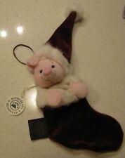 Boyds Exclusive Disney Piglet Plush Stocking Ornament Retired Htf 1999 New!