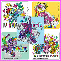 My Little Pony Stickers x 5 - Glitter - Rainbow Dash - Party Favours - Birthday
