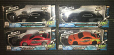 FAST AND FURIOUS 1970 DODGE CHARGER SRT8 TUNERZ LOT OF 4 1:24  RADIO CONTROL R/C
