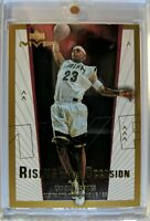 2003 03-04 UD MVP Rising To The Occasion LeBron James RC Rookie #RO2, Insert !