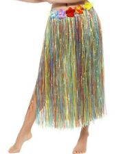 Hawaiian Hula Skirt With Flowers Smiffys Fancy Dress Costume