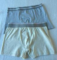 Lot de 2 boxers homme sous vêtement lingerie taille M (Fr 38) neuf