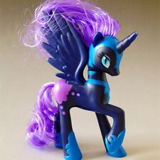 14CM Kid Nightmare Moon Princess Luna My Little Pony Action Figure Doll Baby Toy
