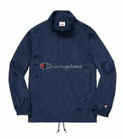 Supreme Champion Half Zip Pullover Jacket Navy Size Large SS17