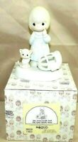 "PRECIOUS MOMENTS by Enesco 1987 Piece 100226 Collectible 5.5"" Porcelain Figurine"