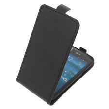 Tasche für Acer Liquid E600 FlipStyle Handytasche Schutz Hülle Flip Case Schwarz