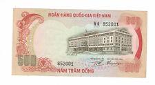 VIETNAM-SOUTH Birthday Serial # 85-2001 500 DONG 1972 PICK# 33a VF - XF. (#1536)