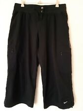 Nike Black Sports Gym Trousers Size 10 (Great condition)