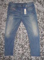 NWT Diesel Women's Fayza Boyfriend Stretch Low Waist Jeans 29,30,31,32 0055,BBB8
